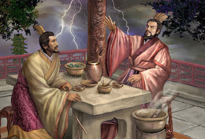 Pembahasan Tiga Negara oleh Yi Zhongtian (13 – 青梅煮酒/Cao Cao Berbincang tentang Pahlawan bersama Liu Bei)