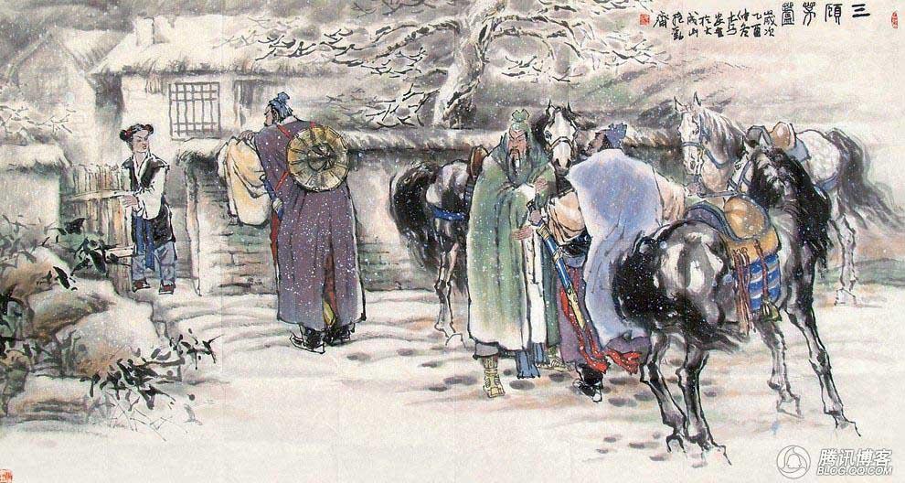 Pembahasan Tiga Negara oleh Yi Zhongtian (16 – 三顾茅庐/Tiga Kali Mengunjungi Pondok Jerami)