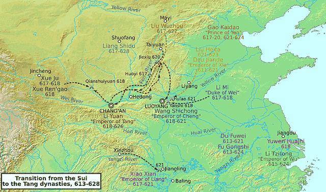 Dinasti Sui dan Tang – Puncak Masyarakat Feodal