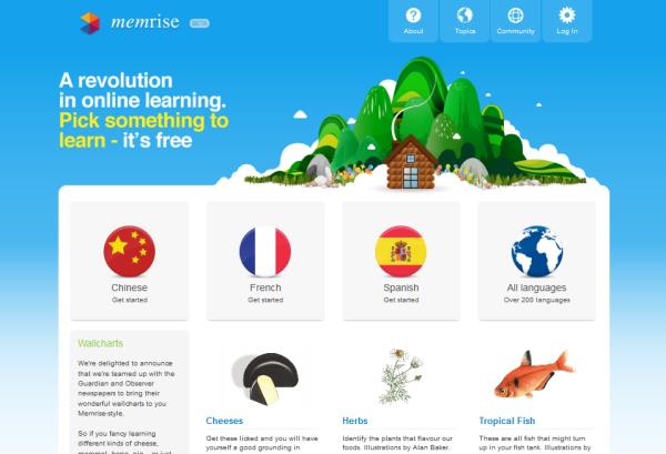 Belajar Bahasa Tionghoa dengan Mnemonic, Memrise