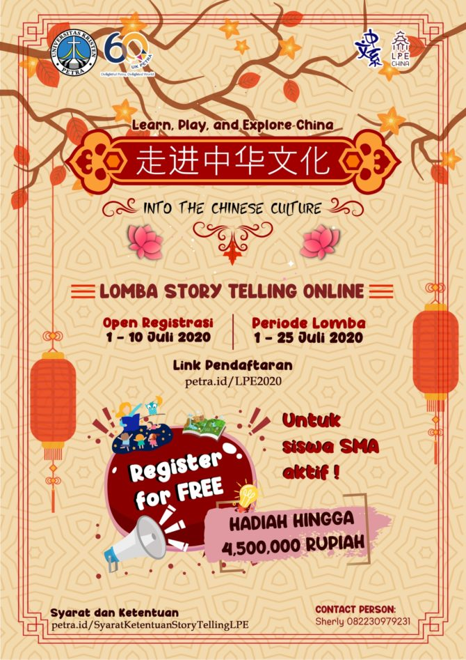 Lomba Story Telling Online